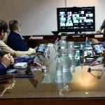 Reunión dei intendentes del conurbano para respaldar las medidas de Kicillof