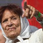 Taty Almeida: innumerabes saludos por cumplir sus 90 años.
