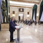"""Alberto Fernández: """"Queremos unas Fuerzas Armadas integradas a la sociedad"""""""