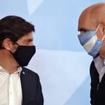 Intendentes opositores presionan a Kicillof para que flexibilice