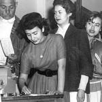 21 de Agosto de 1946.  El Senado aprueba el derecho de Ley sobre Derechos Políticos de la Mujer.