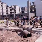 Vecinos residentes del Barrio Olímpico denunciaron problemas de infraestructura