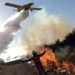 El Gobierno asiste con aviones y brigadistas a distintas provincias para contener incendios
