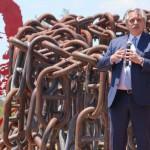 Día de la Soberanía Nacional: Alberto Fernández encabezó el acto en San Pedro