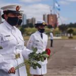 Homenajearon a los 44 tripulantes del ARA San Juan a 3 años del hundimiento.