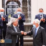 """Alberto Fernández en Chile: """"La unidad de nuestros pueblos nos hace muy fuertes"""""""