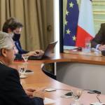 """En la charla con Alberto Fernández, Macron llamó """"a movilizar a los socios del G20"""""""