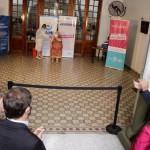 Primera vacunación en un geriátrico, con Kicillof, Máximo e Insaurralde